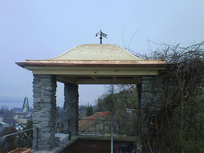 Pergolas/Gartenhäuser