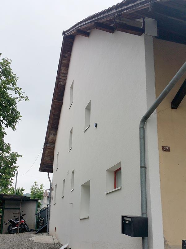 Fassade, verputzt